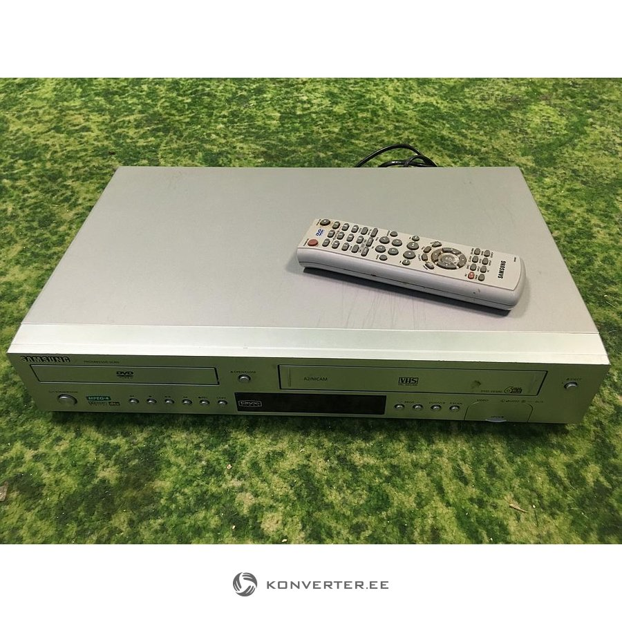 77d4e63b2b2 DVD- ja VHS-mängija Samsung DVD-V6500 - Konverter Outlet