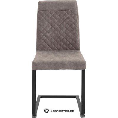 Harmaa-musta tuoli (willy)