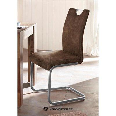 Коричневый мягкий стул (вилла)