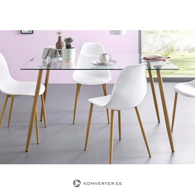 Tempered glass dining table