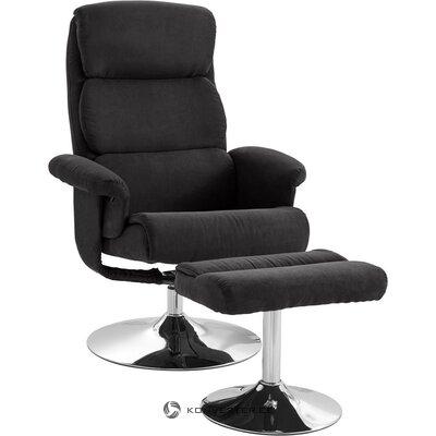 Antracīta grozāmais krēsls (bostona)