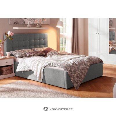 Серая кровать скоро (140x200см)