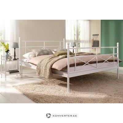 Кровать (тора) белая металлическая (160х200 см)