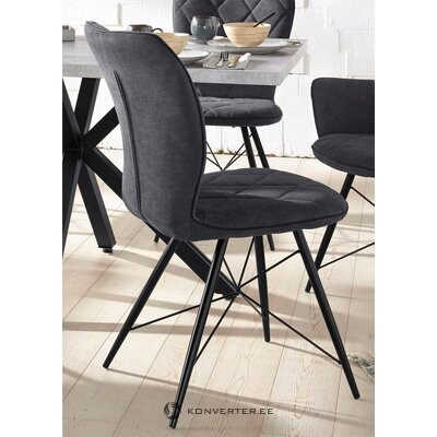 Anthracite in design chair