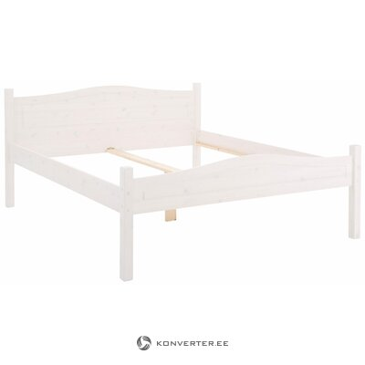 Valge voodi (Bolton) (180cm)
