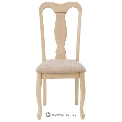 Бежевый мягкий стул