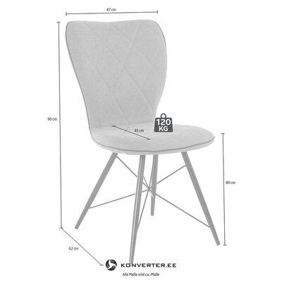 Gray-black chair (viola)
