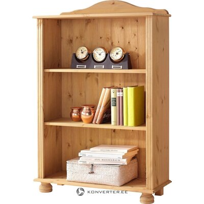 Low light solid wood bookshelf
