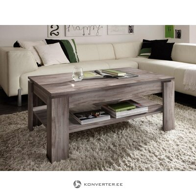 Dark brown coffee table with shelf (trendteam) (whole, in box)