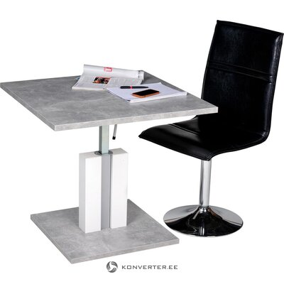 Gray Height Adjustable Sofa Table (Full, Boxed)