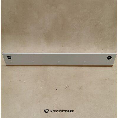 White wall shelf (width 94cm)