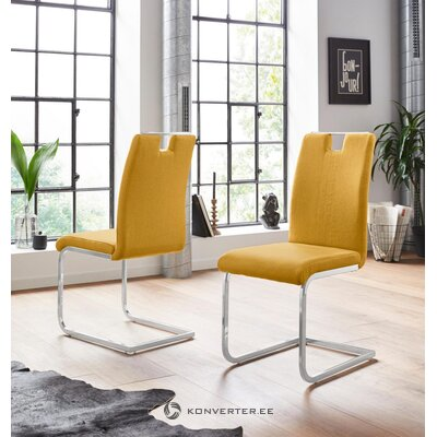 Yellow console chair (carrie)