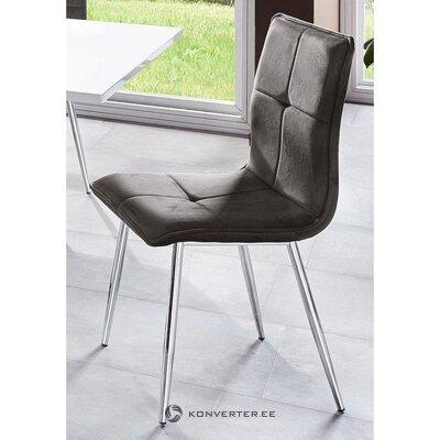 Antrasiitin pehmeä tuoli (nainen)
