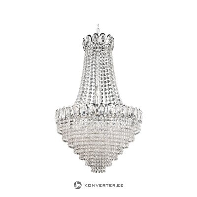 Crystal glass chandelier (searchlight)