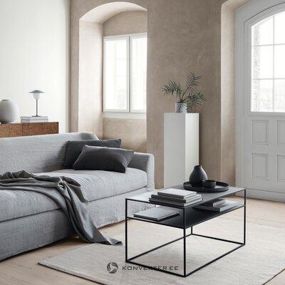 Musta metalli sohvapöytä (blomus)
