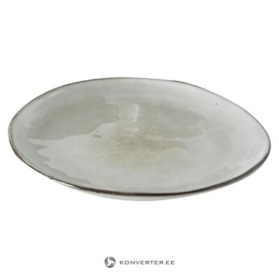 Gray plate (boltze) (whole, hall sample)