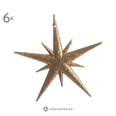 Kalėdinių papuošalų rinkinys 6 dalių fortunatas (det gamle)