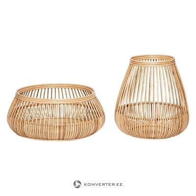 Storage basket set 2 pcs irene (hübsch)