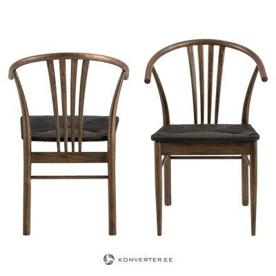 Коричневый стул йорк (интерстил дания)