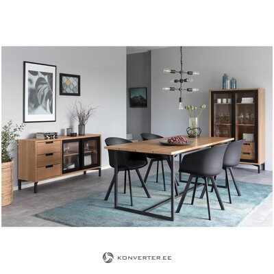 Black chair moon (interstil denmark) (intact sample)