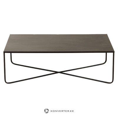 Melnā metāla kafijas galda krusts (Jolipa) (zāles paraugs mazs skaistuma defekts)