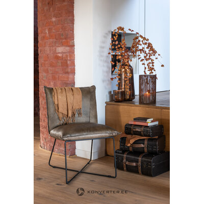 Кожаное кресло avi (jolipa)
