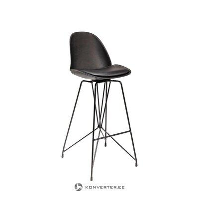 Black bar stool wire (rough design) (hall sample)