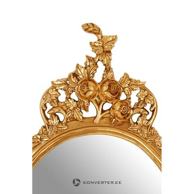 Zelta sienas spogulis (labākie mājsaimniecības priekšmeti)