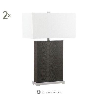 Комплект настольных ламп из 2 частей (safavieh) (целый, образец холла)