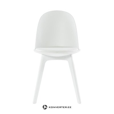 White chair (tradestone) (hall sample, with defects)