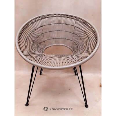 Beige design chair (thai natura) (whole, hall sample)