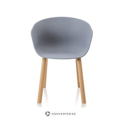 Gaiši pelēks krēsls mork (tomasucci)