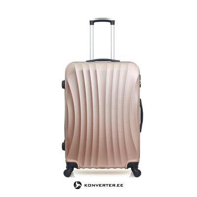 Средне-розовый чемодан москва (герой)