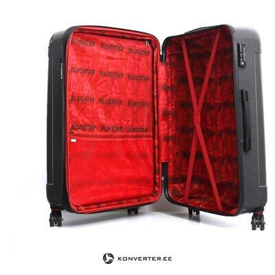 Черный большой чемодан в тунисе (bluestar)