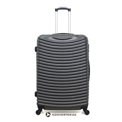 Темно-серый средний чемодан etna (разработка бренда)