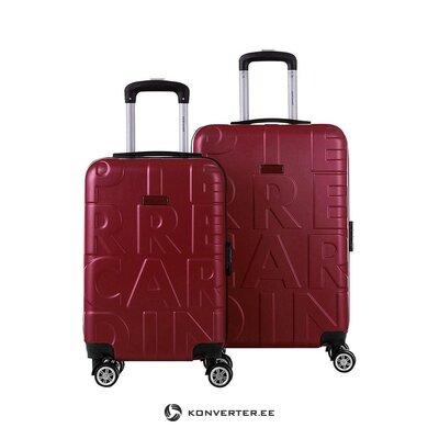 Красный чемодан (Pierre Cardin)