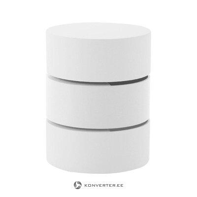 White design bedside table pop (actona)