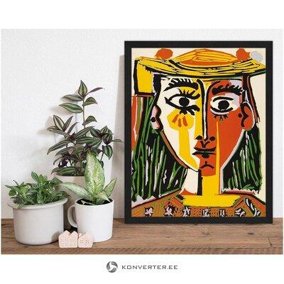 Sienas sievietes attēls (jebkurš attēls)