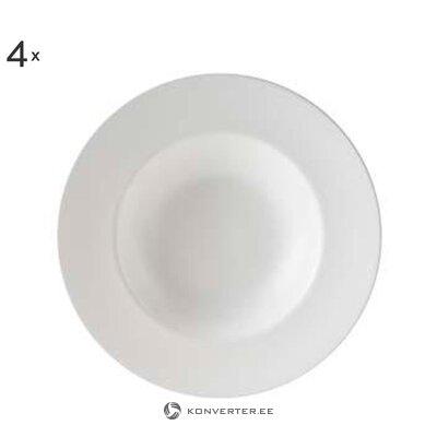 Makaronų lėkštės rinkinys 4 vnt. Oscar (Billiet-Vanlaere)