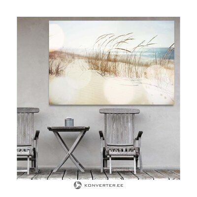 Wall painting dune (c-con) (with flaws hall sample)