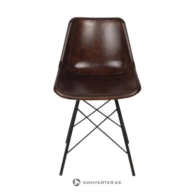 Темно-коричневый стул мелиа (Clayre & Eef)