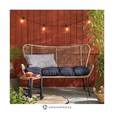Black bench cover bloemendaal (summerset)