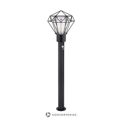 Черный светодиодный уличный светильник ina (глобальное освещение)