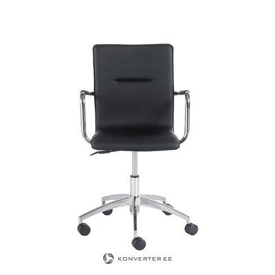 Melns biroja krēsls Anton (pamest)