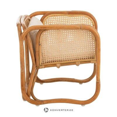 Rotangpalmas dizaina krēsls Gloria (Jolipa)