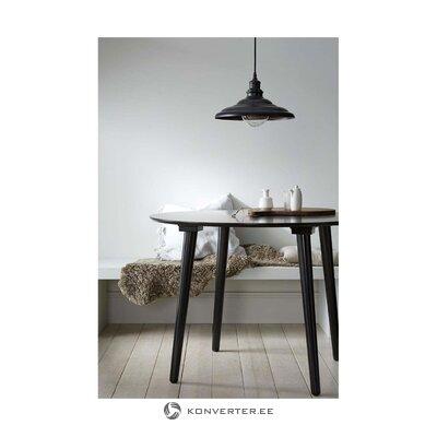 Musta ruokapöytä Jolina (Ellos)