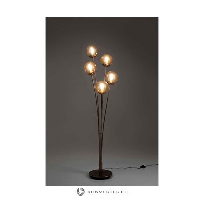 Led floor lamp five balls (rough design)