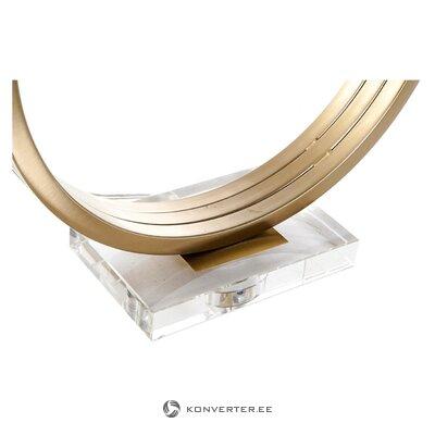 Дизайнерская настольная лампа kelly (деталь)