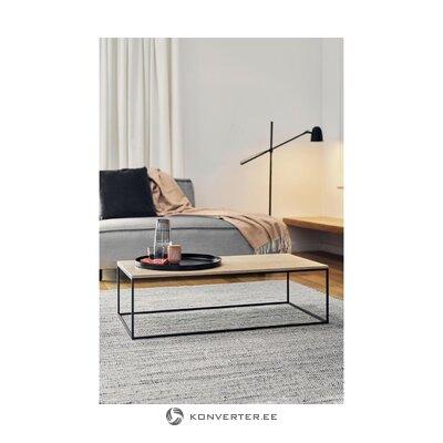 Ruskea-musta sohvapöytä (kafibor)