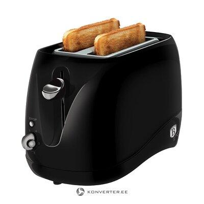 Тостер черный черный (berlinger haus)